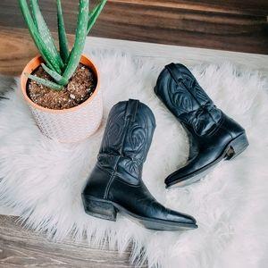 Silver Rebel cowboy boots